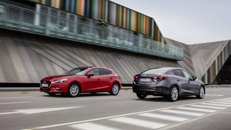 El renovado Mazda3 2017