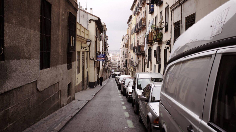 Una calle de Lavapiés, en Madrid.