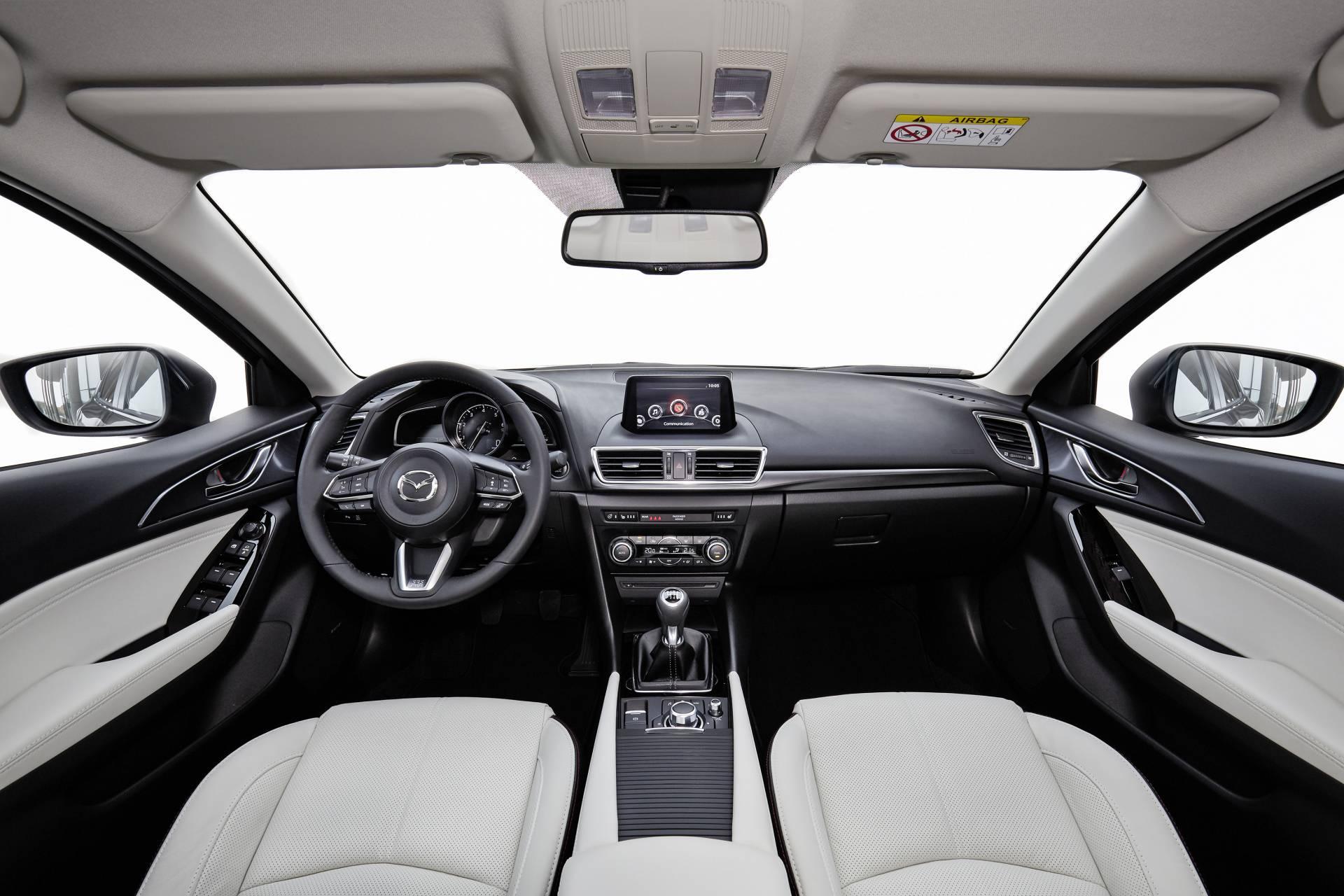 Mayor ergonomía en el nuevo Mazda