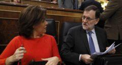 Fiscalía no ve desobediencia de Rajoy y Santamaría por no acudir al Parlament por el 155