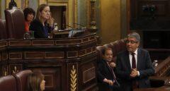 El portavoz parlamentario del PDECat, Francesc Homs, este miércoles en el Congreso.