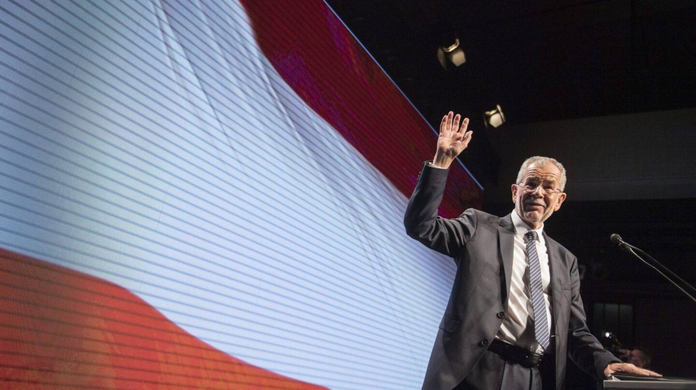 El candidato progresista y europeísta a las elecciones austriacas, Alexander van der Bellen.