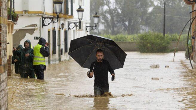 Inundaciones Malaga