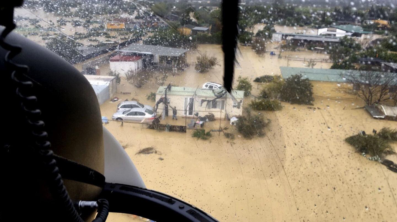 Inundaciones en Malaga.