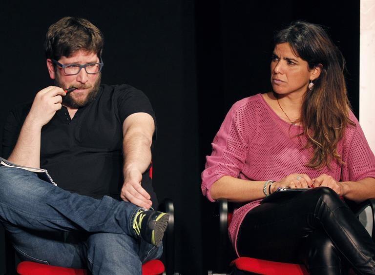 Teresa Rodríguez y Miguel Urbán, los últimos en la lista de Pablo Iglesias