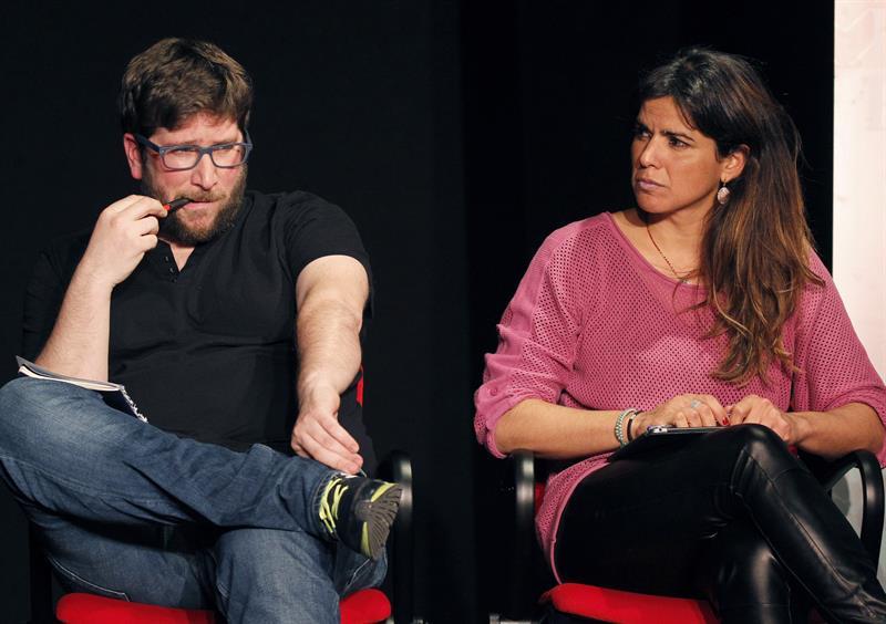 Miguel Urbán y Teresa Rodríguez.