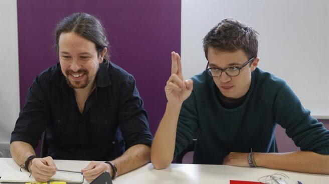 Pablo Iglesias e Iñigo Errejón.