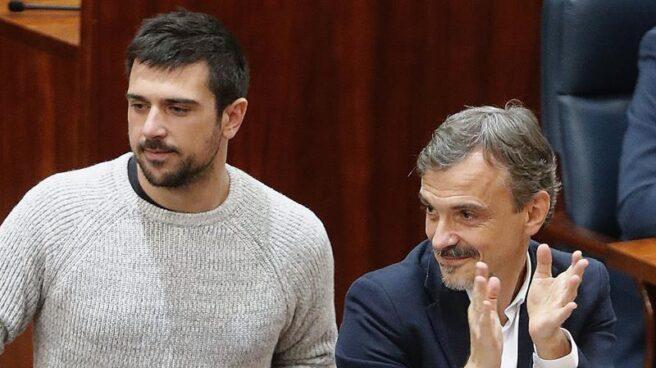 Ramón Espinar y José Manuel López.