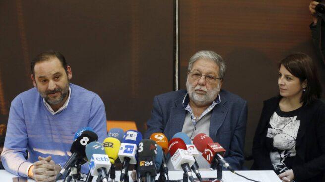 Reunion de sanchistas en Madrid