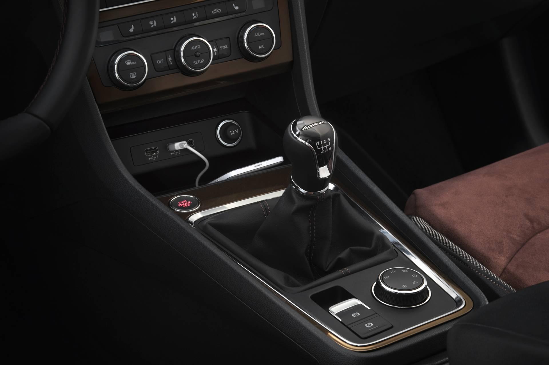 Mediante un selector giratorio situado en la consola, detrás de la palanca de cambio, pueden seleccionarse los modos de conducción: Normal, Sport, Eco e Individual. Las versiones 4x4 cuentan con dos modos adicionales, Nieve y Offroad.