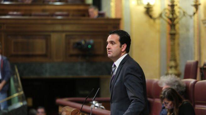 El diputado de Unión del Pueblo Navarro, Iñigo Alli.