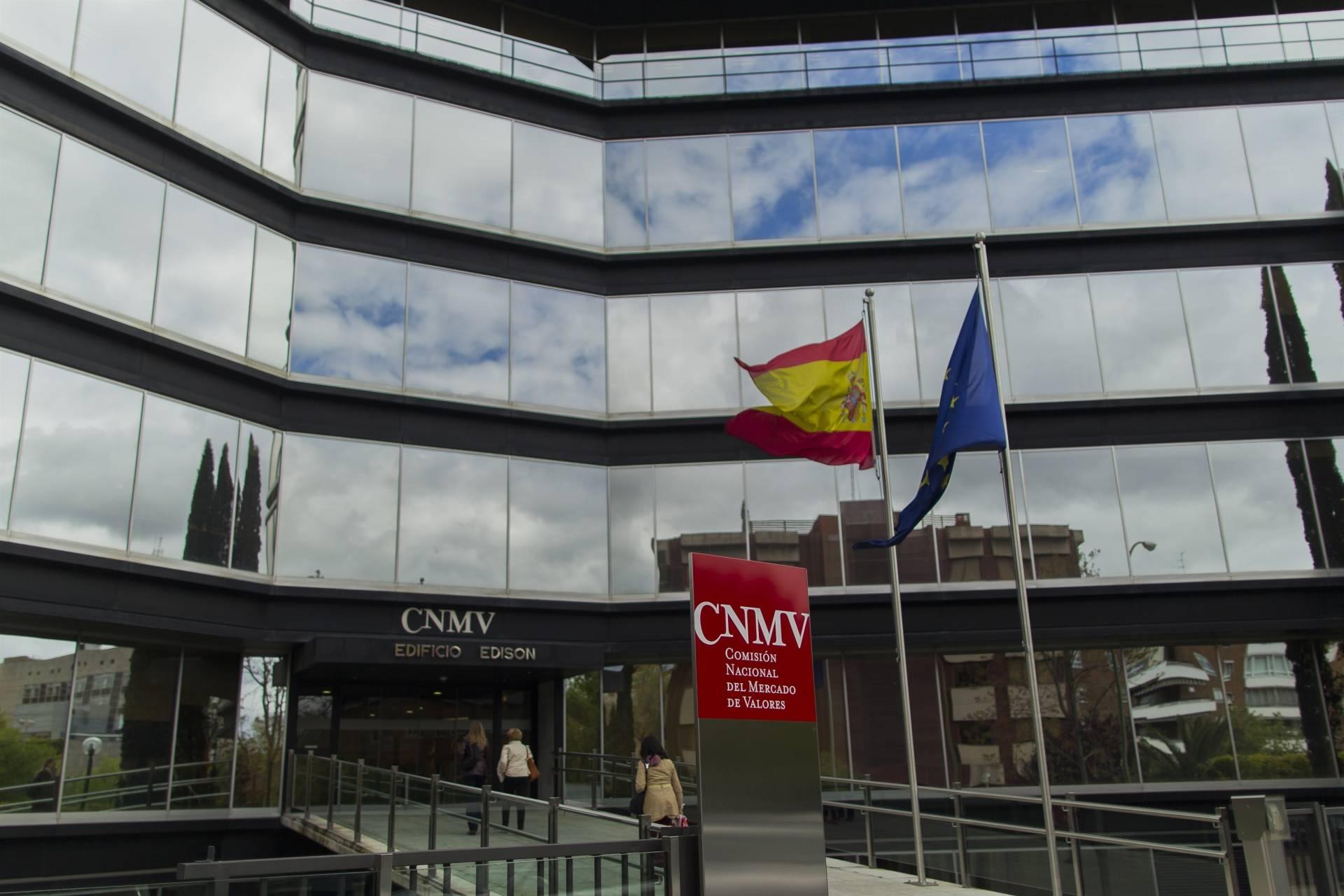 Sede de la CNMV, en Madrid.