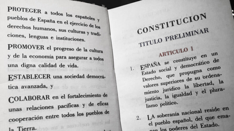 Constitución Española.