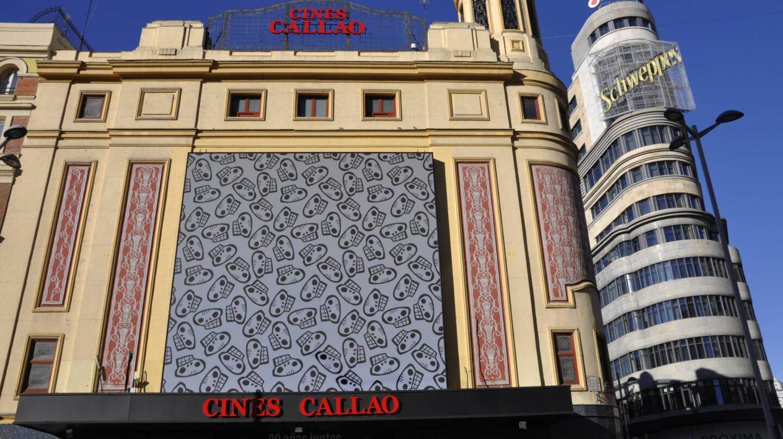 Otra de las obras de Juan Díaz Faes proyectadas en las pantallas del Cine Callao.
