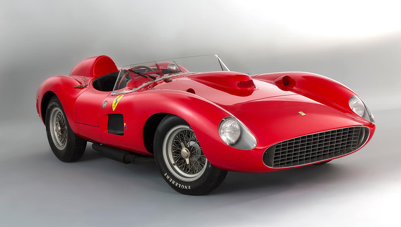 Un Ferrari 335 S Spider Scaglietti de 1957 protagonizó la venta en euros más cara de la historia.