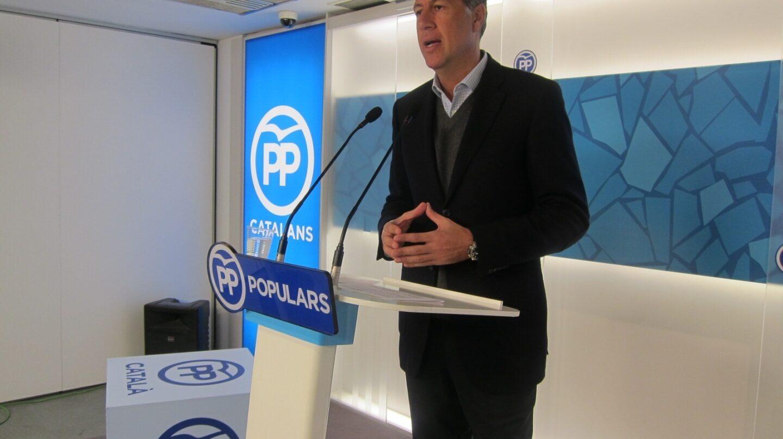 Xavier García Albiol, líder del PP de Cataluña.