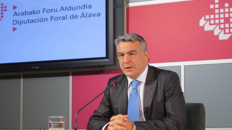 El nuevo delegado del Gobierno en el País Vasco, Javier de Andrés.