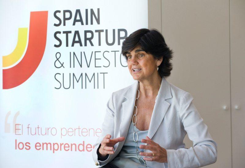 La fundadora de Spain Start up, María Benjumea, en un acto del South Summit.