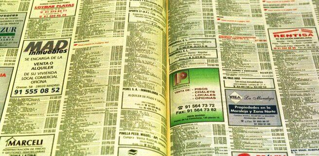 Imagen de un ejemplar de las Páginas Amarillas.