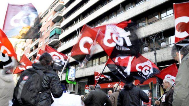 Protesta de la CGT