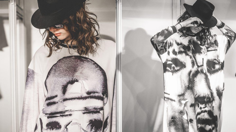 Dos de los diseños de Krizia Robustella.