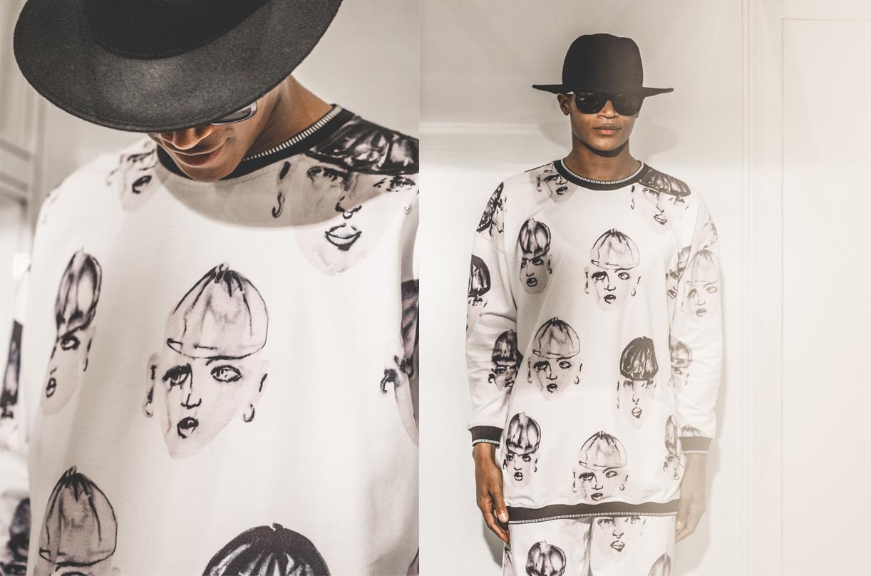 Los estampados juegan un papel importante en la nueva ropa deportiva. Las sudaderas, camisetas y leggins de Krizia Robustella suelen llevar dibujos de ilustradores.
