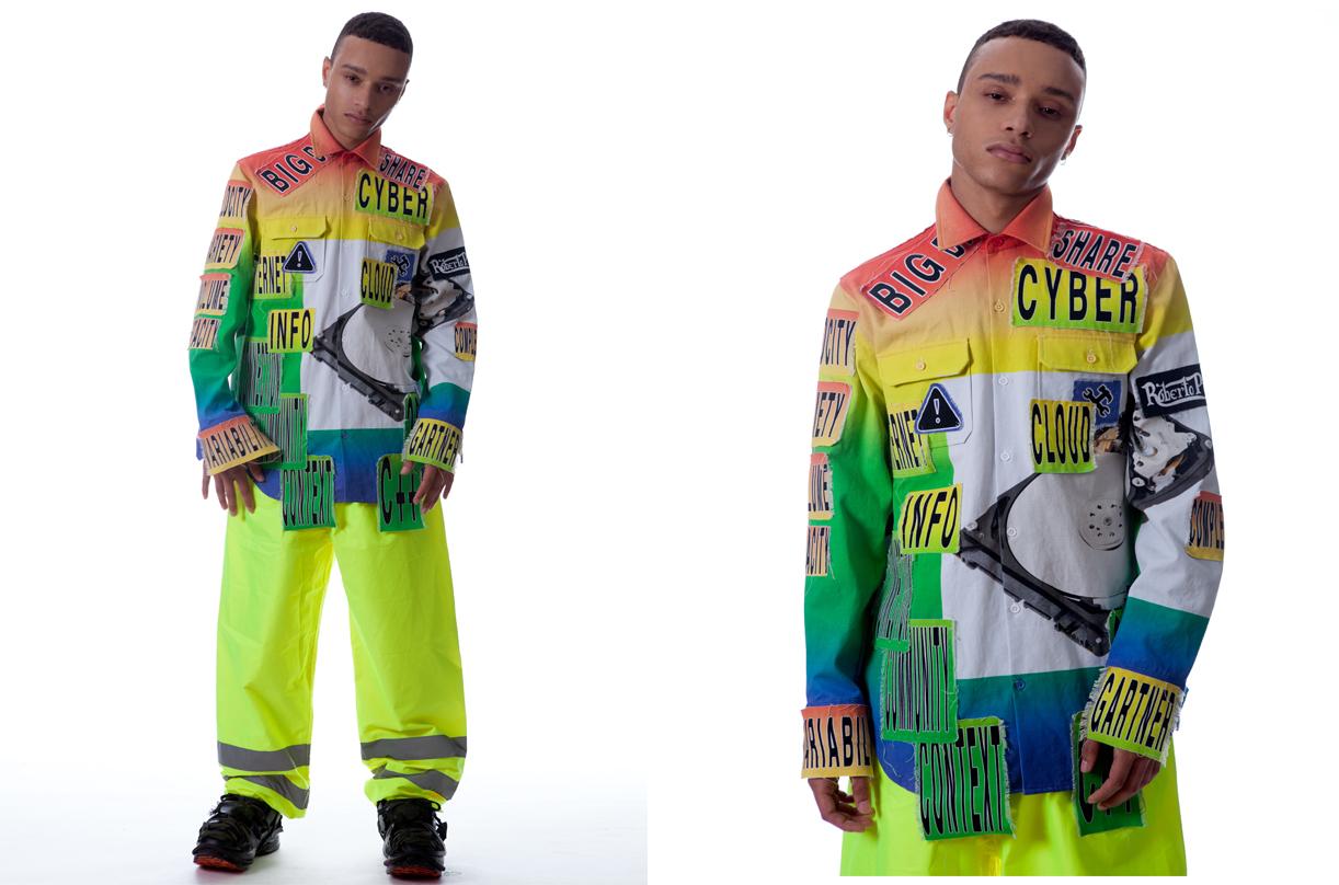 La ropa de trabajo inspira al diseñador Roberto Piqueras.
