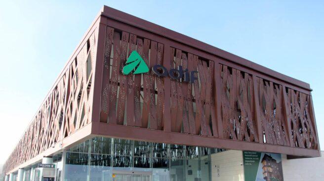 Estación de Adif en Cuenca.