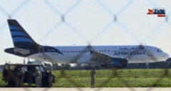 El avión secuestrado en Libia y que ha aterrizado de emergencia en Malta.