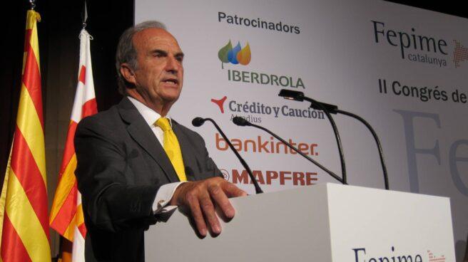 El presidente de la patronal Foment del Treball, Joaquim Gay de Montellà.
