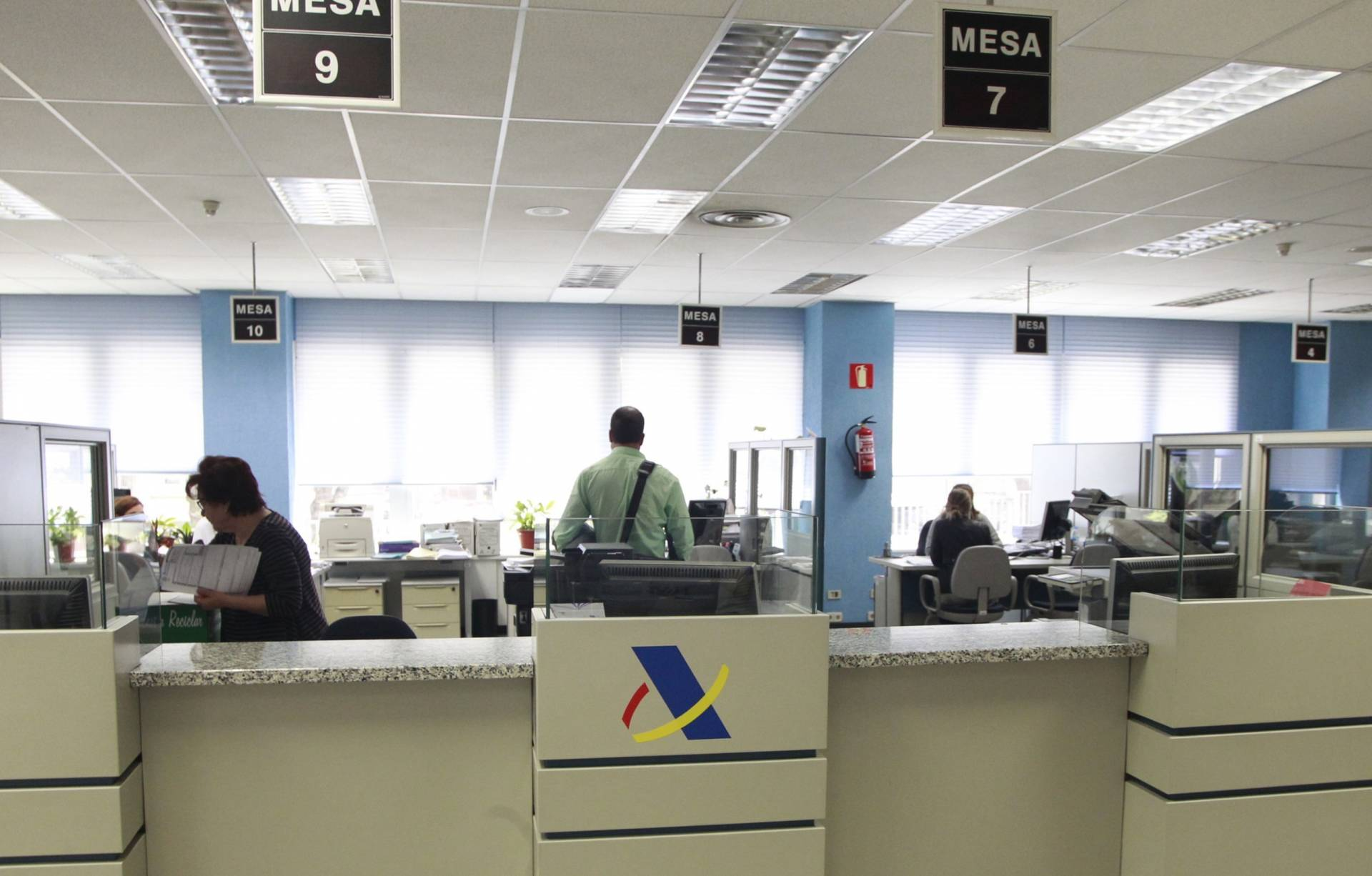 Amnistía fiscal: Oficina de la Agencia Tributaria.