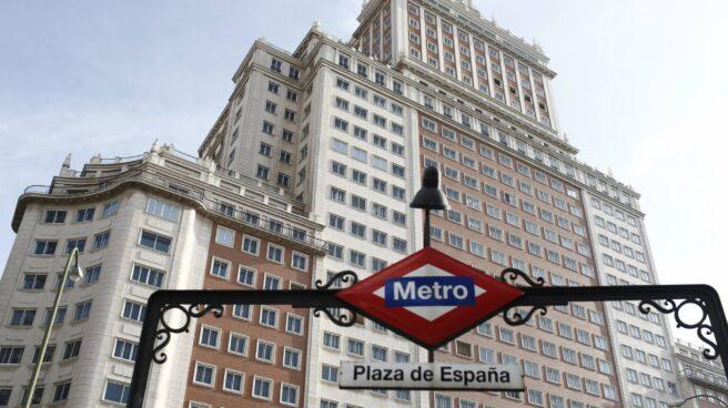El Edificio España de Madrid.