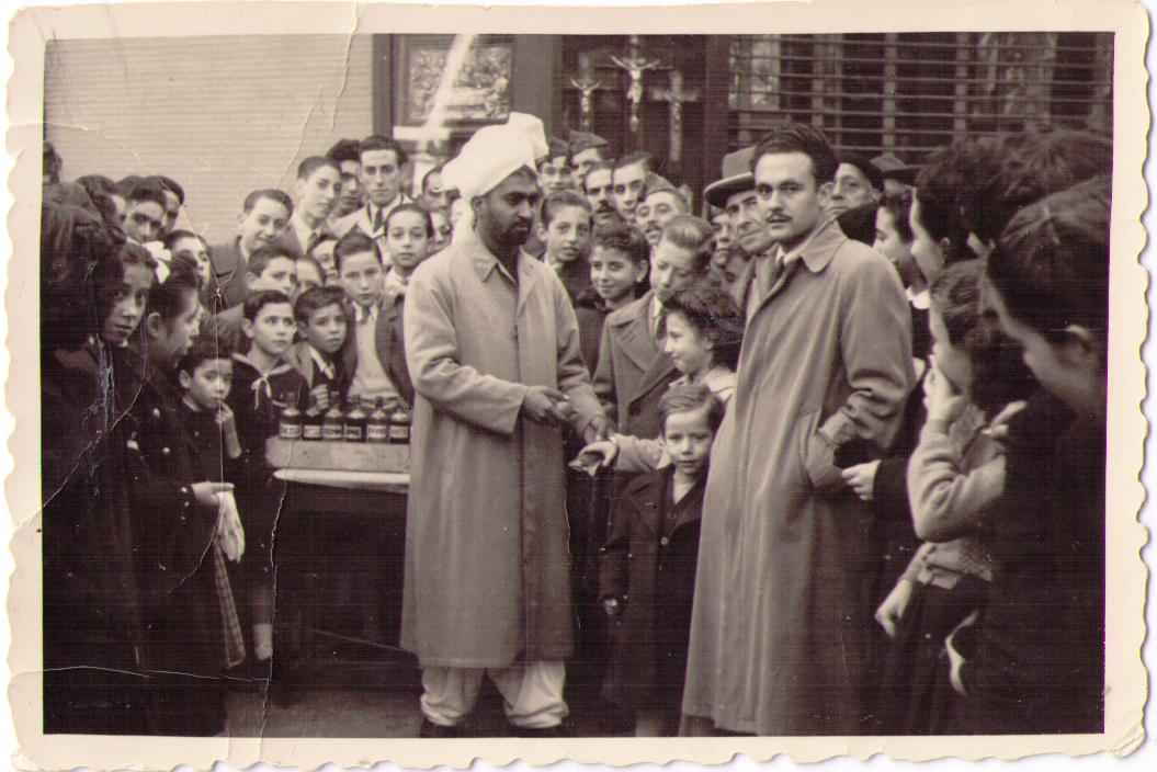Karam Zafar, conocido como 'El Perfumista' o el 'Señor del Turbante', llegó a España en 1946.