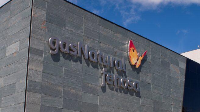 Fachada de la sede de Gas Natural en Madrid.