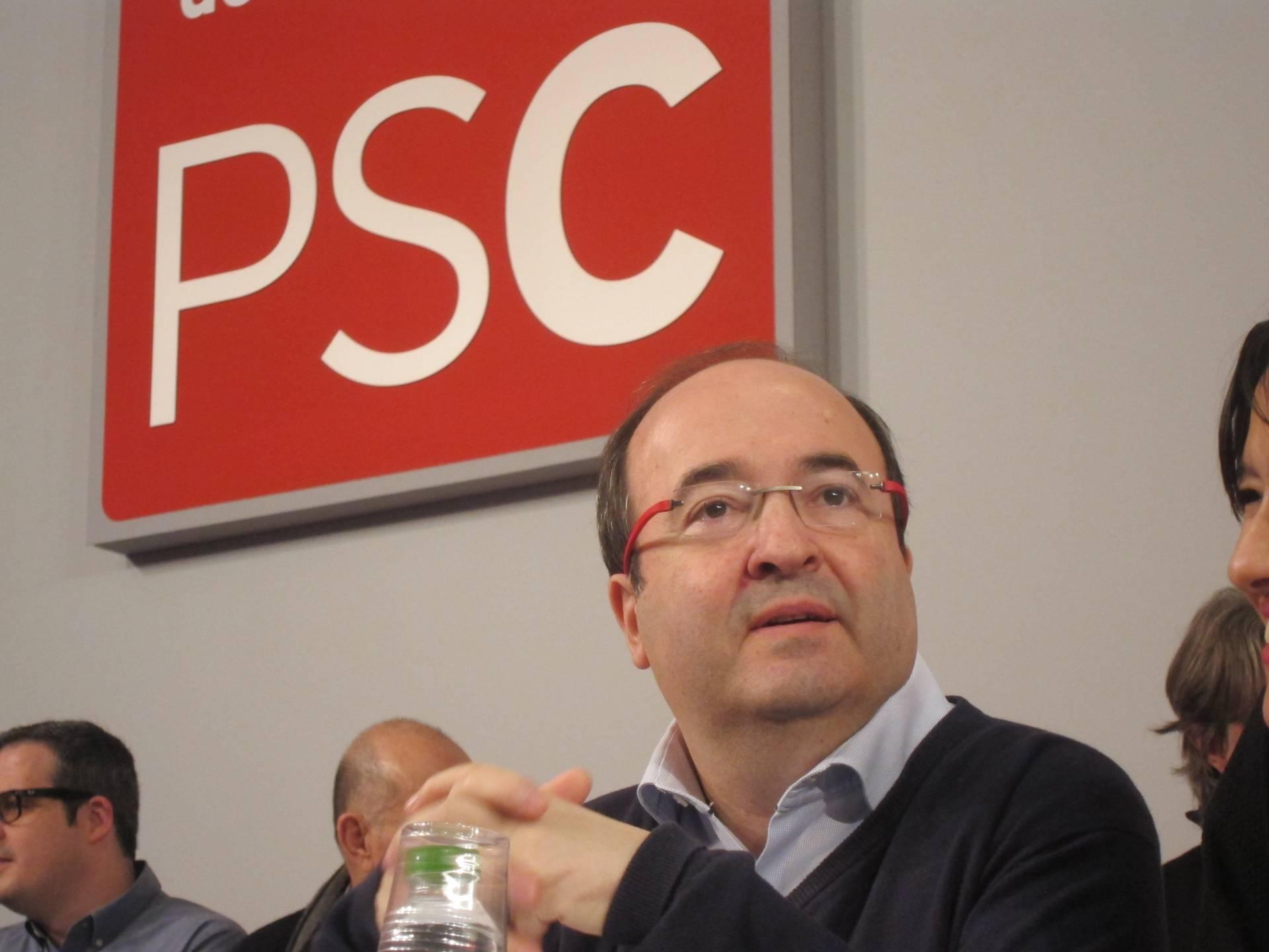 El secretario general del PSC, Miquel Iceta.