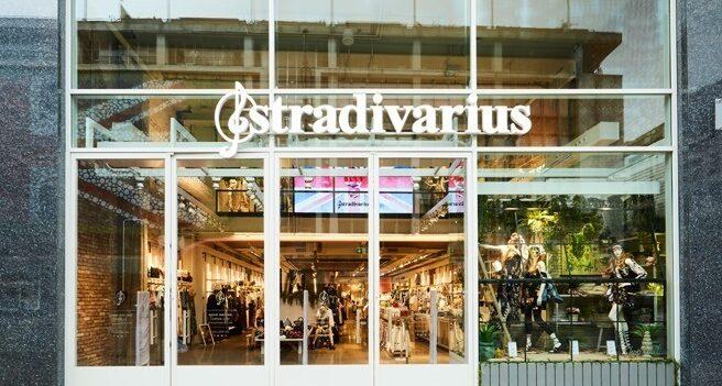 Una tienda de Stradivarius.