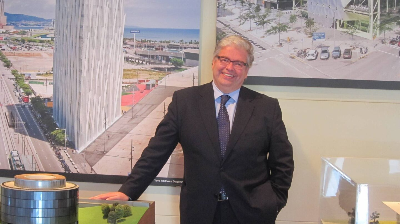 El delegado especial del Estado en el Consorcio de la Zona Franca de Barcelona, Jordi Cornet.