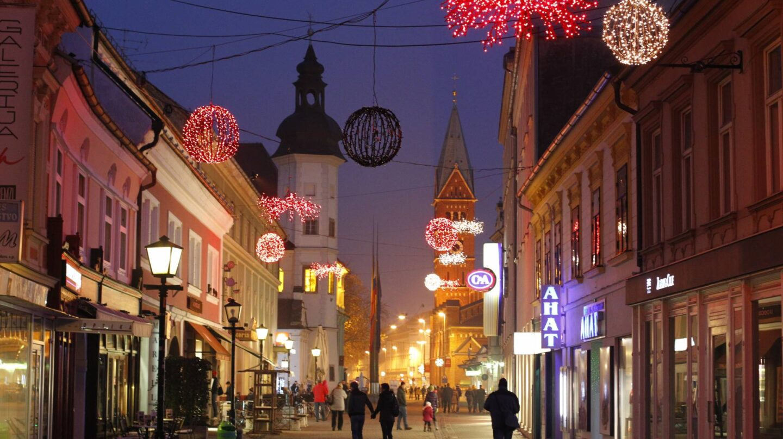 El pueblo esloveno de Maribor vive a tope la Navidad.
