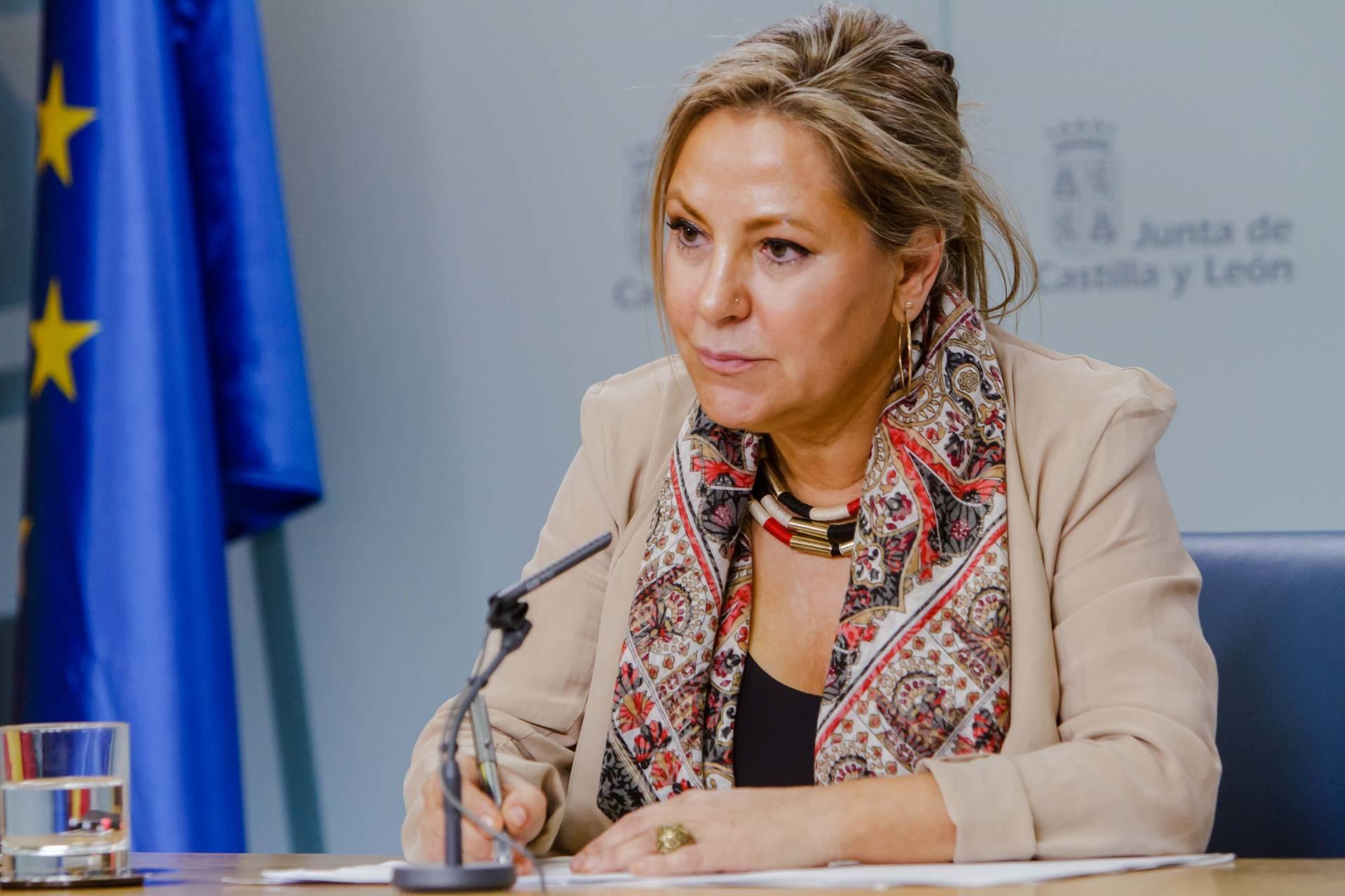 La ex vicepresidenta de Castilla y León, Rosa Valdeón.