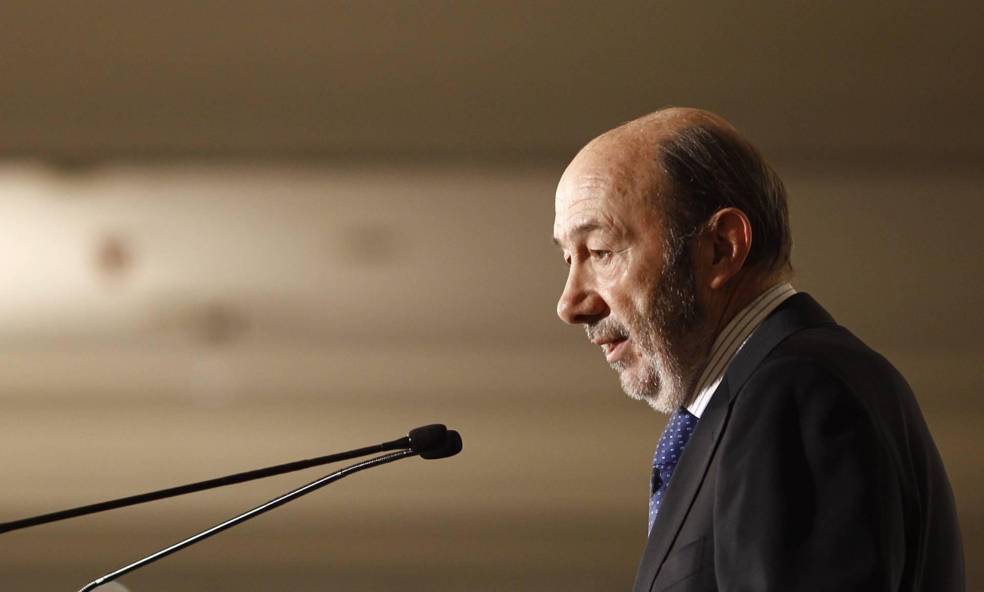 El ex secretario general del PSOE, Alfredo Pérez Rubalcaba.