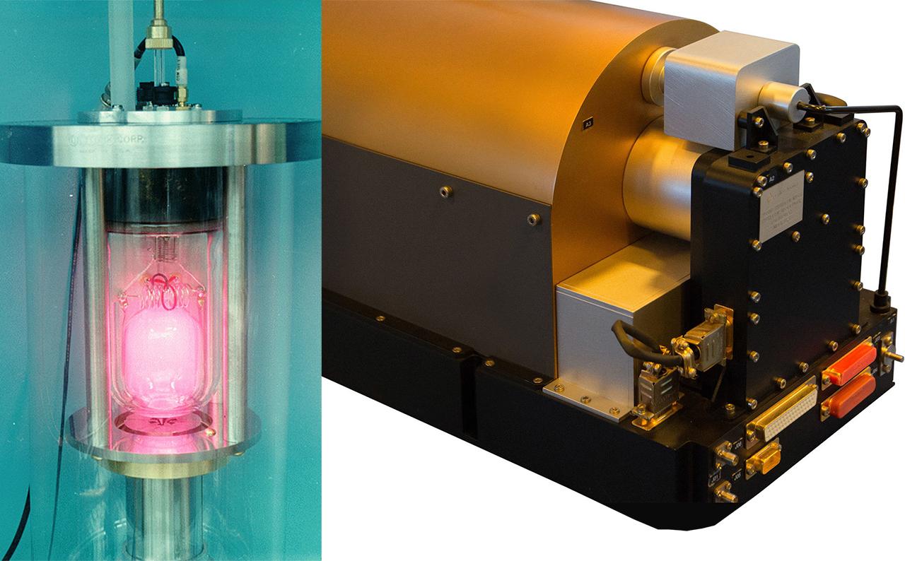 El máser de hidrógeno es un instrumento que 'fabrica' la hora en el ROA.