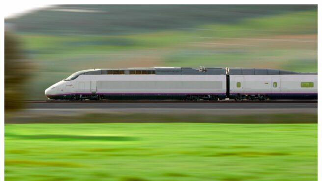 Tren de alta velocidad.