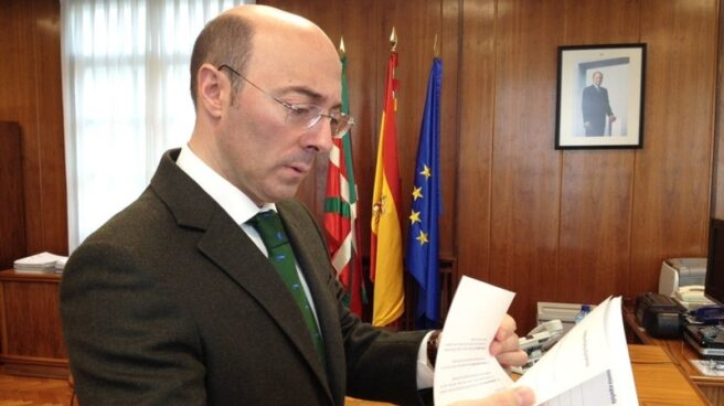 El ya ex delegado del Gobierno en el País Vasco, Carlos Urquijo.