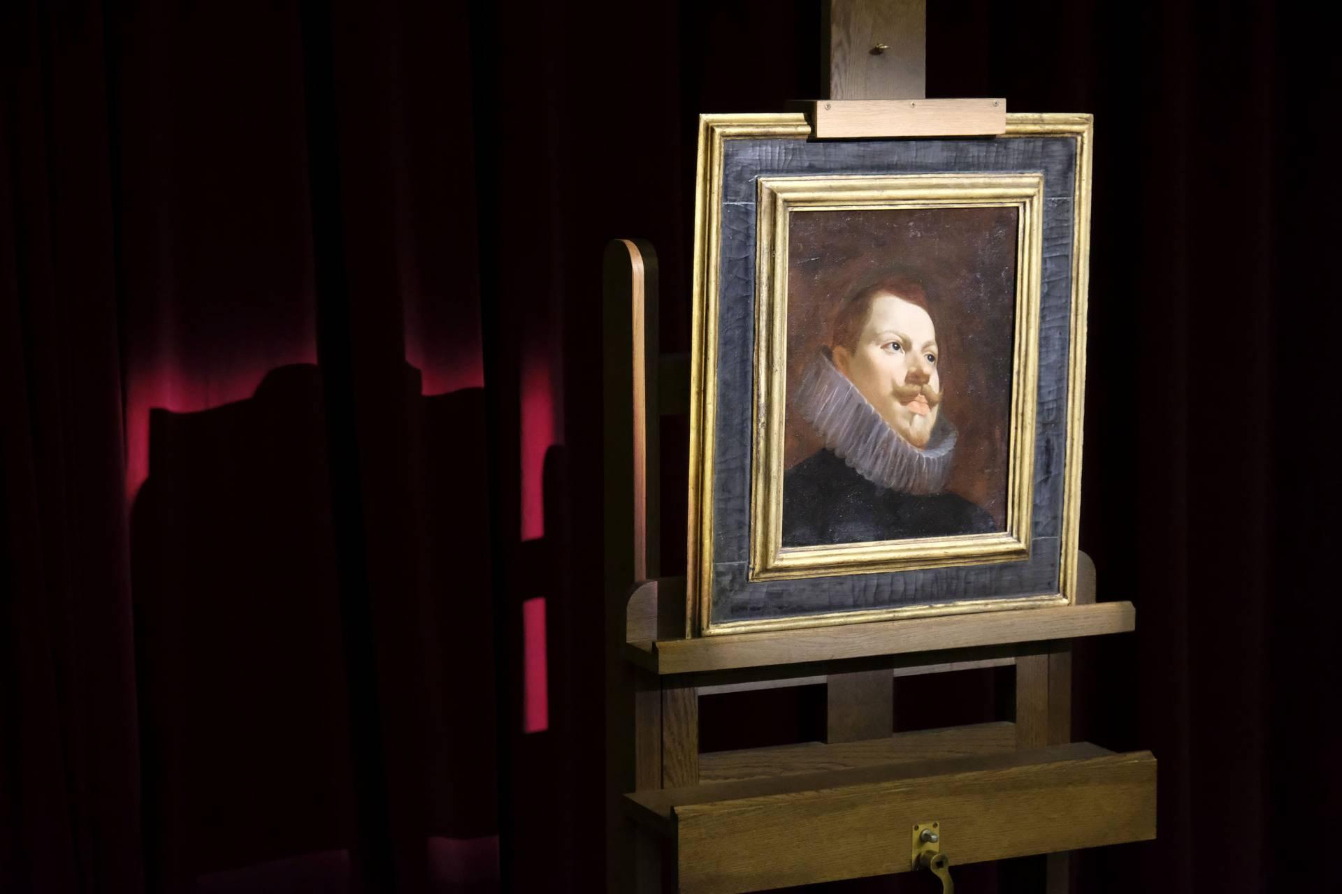 Retrato de Felipe III. Diego Velázquez.