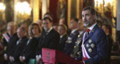 El Rey insta a emplear al Ejército en la lucha contra el terrorismo