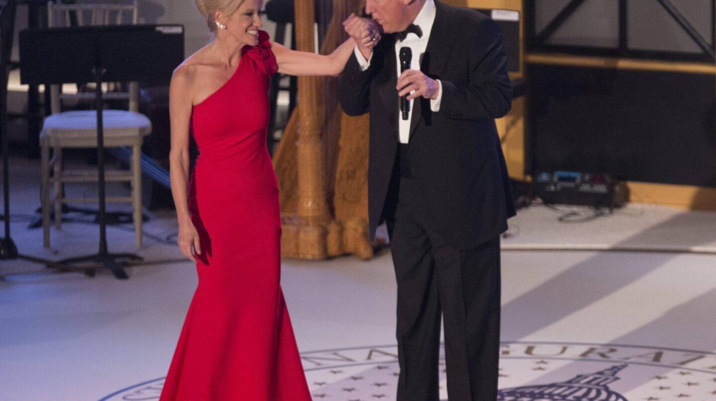 Kellyanne Conway y Donald Trump