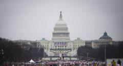 Imagen de la manifestación contra Donald Trump organizada en Washington.