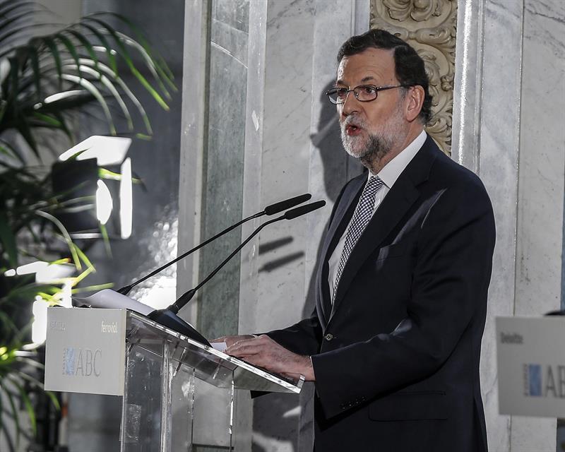 Mariano Rajoy, en el Foro ABC.