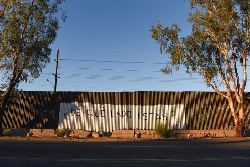 La cerca entre México y EEUU