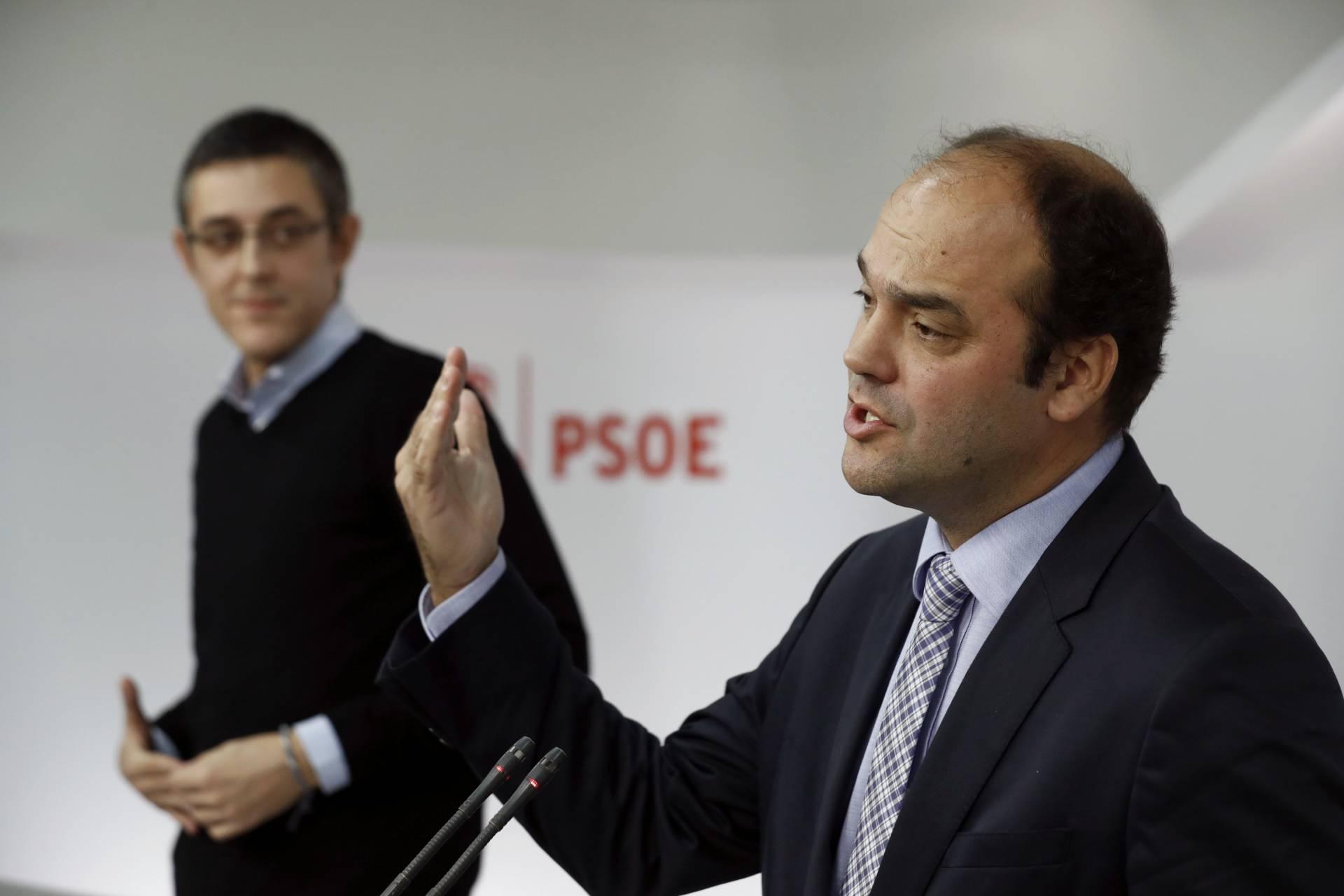 Eduardo Madina y José Carlos Díez